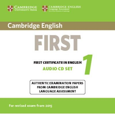 [(Cambridge English First 1 for Revised Exam from 2015 Audio CDs (2): Authentic Examination Papers from Cambridge English Language Assessment)] [ CAMBRIDGE UNIVERSITY PRESS ] [November, - Language Press