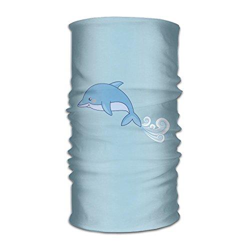 Headwear Headband Dolphins Head Scarf Wrap Sweatband Sport Headscarves For Men -