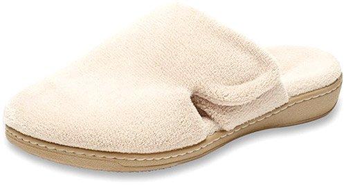 Orthaheel Womens Gemma Slippers in Tan Size 9