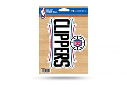 Clippers Decal - NBA Los Angeles Clippers Die Cut Vinyl Decal