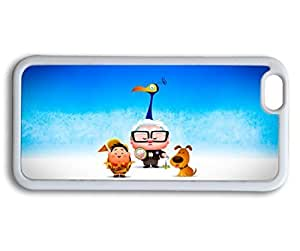 Andre-case Case For Iphone 6, Cute Cartoon iPhone 6 4.7 case cover 1E66yk3NpJx up movie kawaii boy and dog movie design