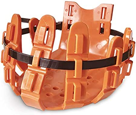Large//Orange 10 Ties Equine Poultice Boot and Hoof Protector Vet-Strider