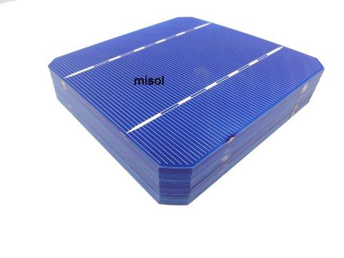41lI7JJxUuL - MISOL Mono Solar Cell 5x5 2.8w, GRADE A, monocrystalline cell, DIY solar panel, for DIY solar module