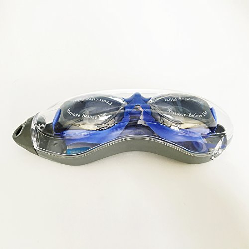 Anti-fog UV Waterproof Racing Swim Swimming Goggles Glasses Adjustable Adult