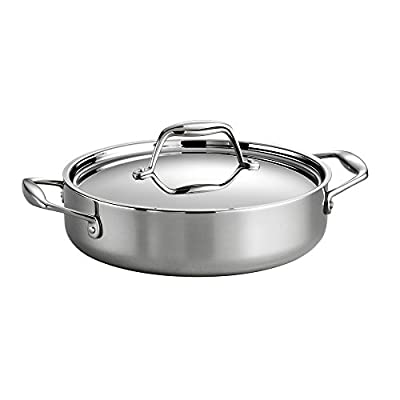 Tramontina Gourmet Tri-Ply Clad Covered Braiser