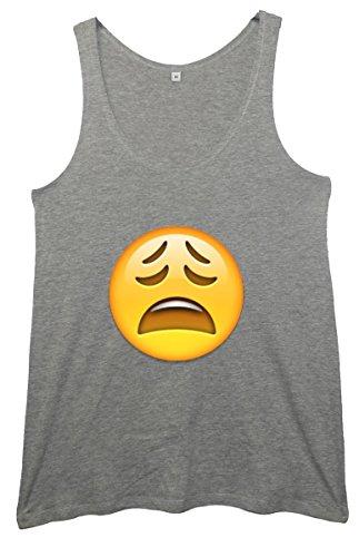 Minamo - Camiseta sin mangas - para mujer gris