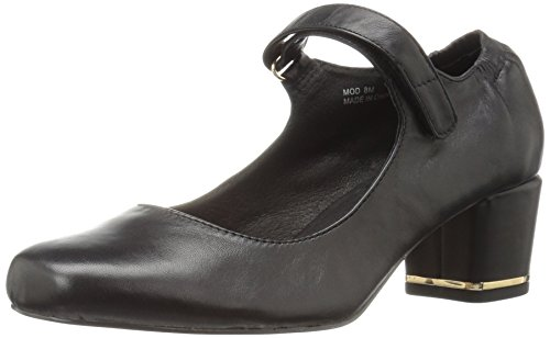 Sudini Women's Black Mod Dress Pump WnrUWOAq1