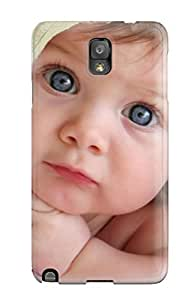 Tpu Fashionable Design Cute Babies Photos Rugged Case Cover For Galaxy Note 3 New