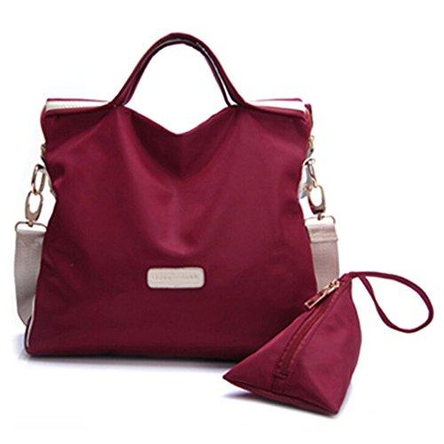 Pairs D - Bolso mochila  para mujer rojo red