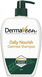 DermaVeen Daily Nourish Oatmeal Shampoo, 500ml