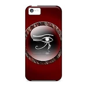 Hot Design Premium Tpu Case Cover Iphone 5c Protection Case(eyes)
