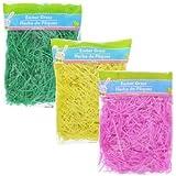 Easter Basket Grass 3x3 oz Bag (Green, Yellow, Pink)
