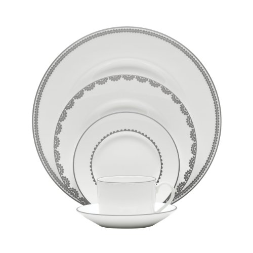 Vera Wang Wedgwood Vera Flirt 5-Piece Dinnerware Place Setting, Service for 1 (Vera Wang Platinum Lace compare prices)