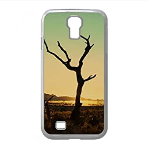 Sunset, Namib Desert Watercolor style Cover Samsung Galaxy S4 I9500 Case (Africa Watercolor style Cover Samsung Galaxy S4 I9500 Case)