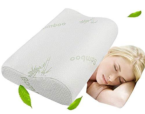 Memory Foam Neck Pillow - Contour Care Pillow Sleeper Orthopedic,  Anti...