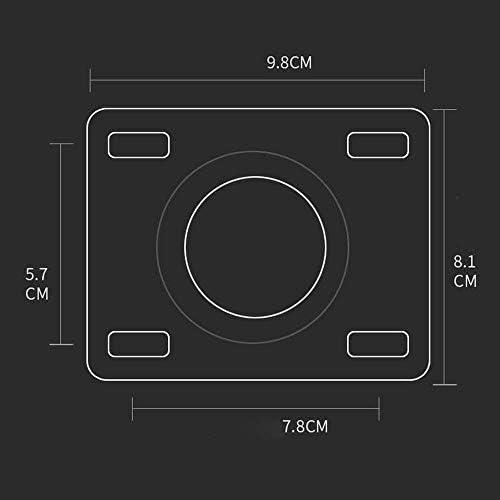 トロリー表Furnのための家具表トロリーベンチガレージ用キャスター用ブレーキなしの家具4キャスターホイールの98ミリメートルヘビーデューティ400kgのTPRポリウレタンミュートキャスタースイベルホイールキャスター (Color : 4 Universal Casters)