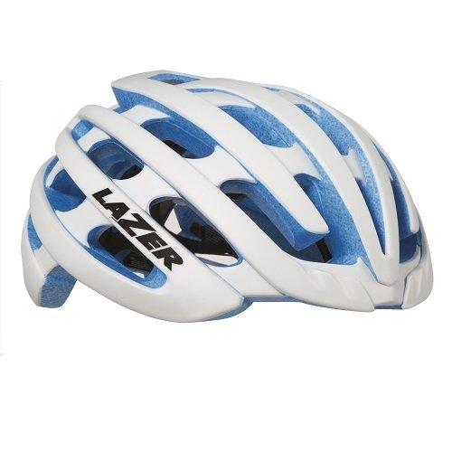 [レイザー] Z1 ゼットワン ヘルメット ホワイト/ブルーEPS L(58-61cm)  B019H5FW8S