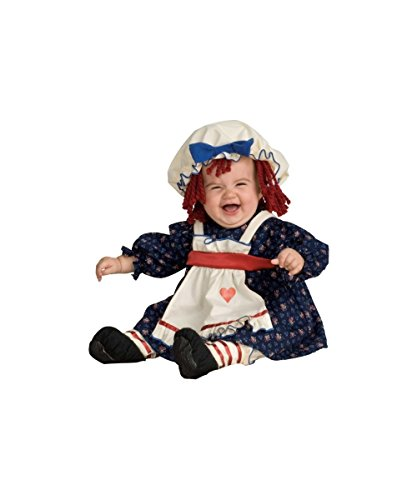 Rubie's Ragamuffin Dolly Costume - Toddler/child Costume - Small (4-6)