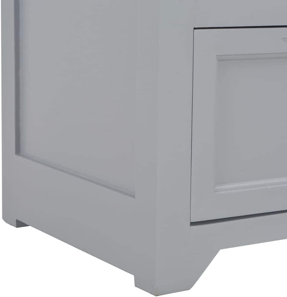 vidaXL Mueble para TV de Madera Mobiliario Decoraci/ón Hogar Interior Toque de Estilo Elegante Moderno Duradera y Resistente Blanca 120x40x30cm