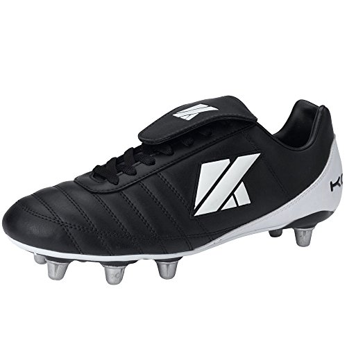 KOOGA Classic CS-4 Low Cut Soft Toe Rugby Boots [black]