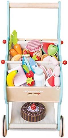 Le Toy Van tv316 Honeybake Einkaufstrolley mit Abnehmbarer Tasche