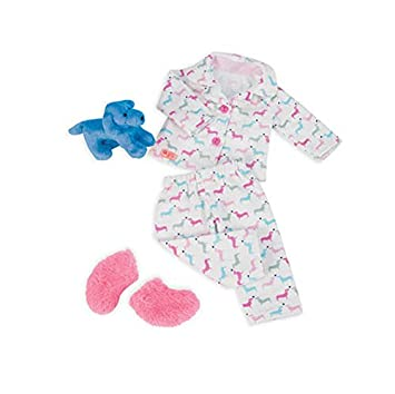 Our Generation - Pijama para muñeca, diseño de cachorritos, 46 cm