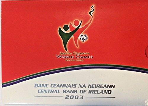Ireland 2003 Official Euro Set 8 Coins Special Olympics Games Special - 2003 Olympics Special