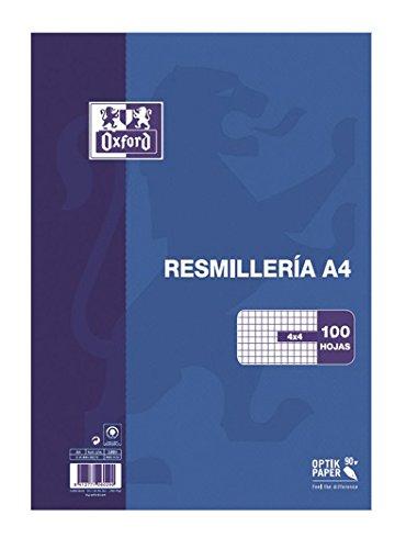 Oxford Classic - Resmillería paquete 100 hojas, A4 Hamelin Brands 100430215