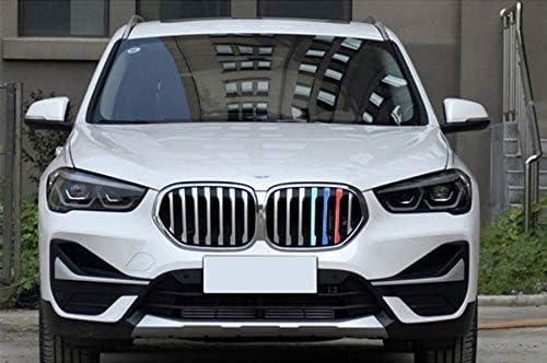 BizTech /® Insertos de rejilla compatibles con BMW X1 F48 LCI 2020 M Power M Sport Tech Cap/ó Ri/ñ/ón Rayas Cubierta