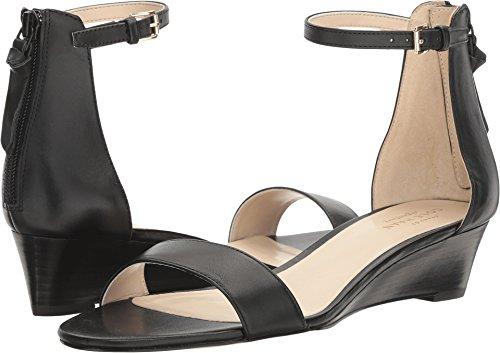 Cole Haan Women's Adderly Wedge Sandal, Black, 7 B US