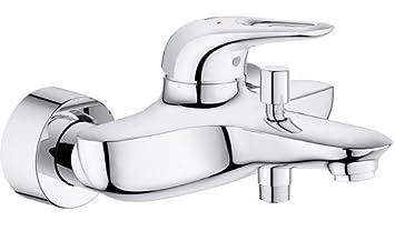Cromo Grohe 23726003 Miscelatore Monocomando per Vasca-Doccia Eurostyle New Leva Chiusa