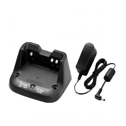 Icom rapid charger BC-193 for F3001 F4001 F3101D F4104D only *works with Li-Ion batteries (BP-265)*