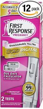 Amazon Com First Response Gold Digital Digital Pregnancy Tests 2