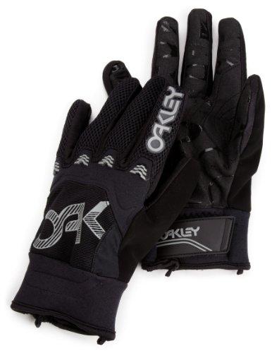 Oakley Men's Heritage Pipe Glove (Black, Small) - Black Pipe Glove