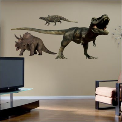 FATHEAD Dinosaurs Group Two Wall ()