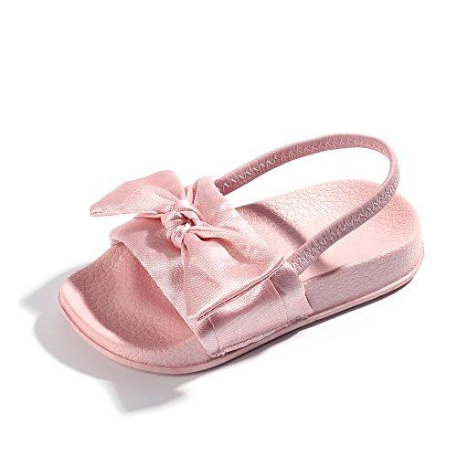 - FITORY Toddler Girls Sandals Slip On Bow Slides Little Kids Summer Shoes Size 2-10