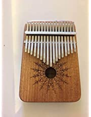 Kalimba Thumb Piano 17 keys Portable Mbira Finger Piano With Mahogany Wood And Tune Hammer Gifts For Adult Kids And Beginners Horse