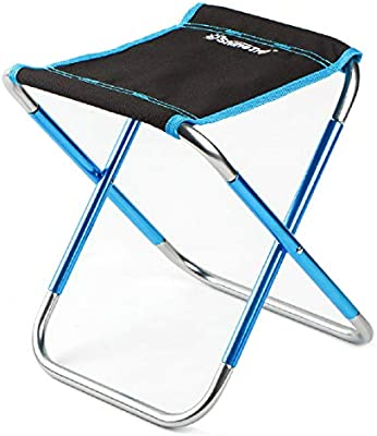 Sports & Entertainment Portable Small Lightweight Hiking Durable Camping Stool Folding Outdoor Convenient Picnic Chair Seat Aluminum Alloy Mini Fishing