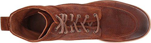 Frye Hombres Rainer WorkBota Bota De Invierno Rust Washed Waxed Suede