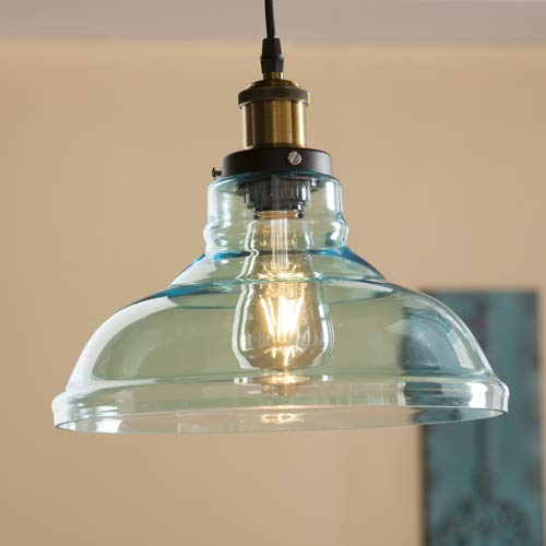 Coloured Glass Pendant Light Shades