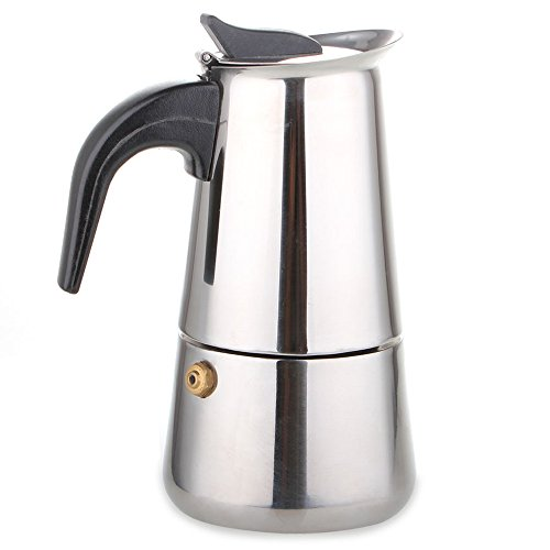 Coffee Maker Without Pot : AMFOCUS Stovetop Coffee Maker Moka Pot, Stainless Steel, 4 Espreso Cup 11street Malaysia ...