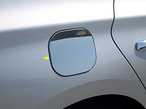 QAA FITS SENTRA 2013-2019 Nissan (1 Pc: Stainless Steel Fuel/Gas Door Cover Accent Trim, 4-Door) - Trim Fuel