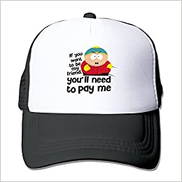 South Park Cartman You ll Need To Pay Me Snapback Hats Adjustable Caps  Baseball Caps Apparel 8ab3916d63aa