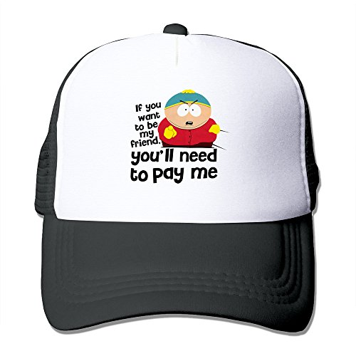 South Park Cartman You'll Need To Pay Me Snapback Hats Adjustable Caps Baseball Caps