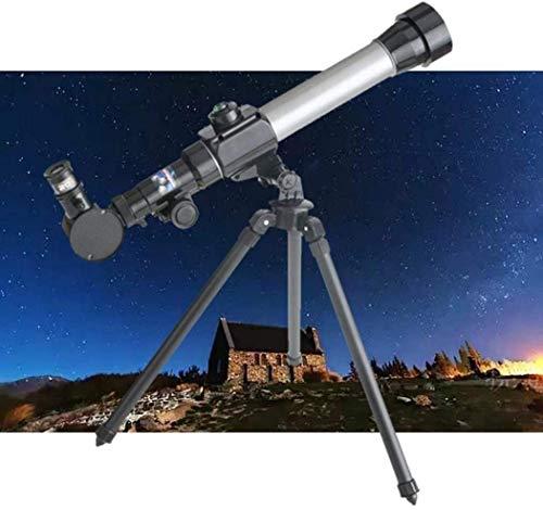 Vwcoik Monocular Telescope Refractor Astronomical Telescope Portable Tripod Monocular Telescope for Kids HD Simulation Astronomy Telescope Experiment Children