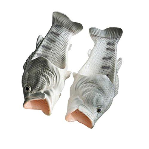 Dusche Anti Silber Jungen Lustige Hausschuhe Damen Besondere Unisex Slippers Sandalen Fisch Rutsch Schuhe Mädchen Strand OHQ Herren Kinder nxA4wgPY