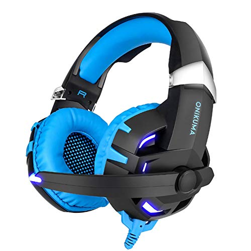 DEVILNAIL Professional Headphone with Mic,Computer Gaming Headset,Stereo Surround - Psp 11 Eyes