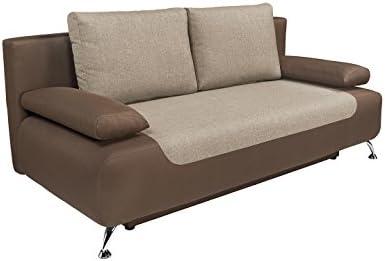 Amazon.com: MEBLE FURNITURE & RUGS Futon Sofa Bed, Queen ...