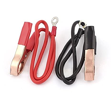Clips eDealMax 2pcs 46cm 30Amp cocodrilo Booster Cable para ...