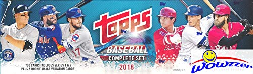 2018 Topps Baseball Card - 2018 Topps Baseball Factory Sealed Retail Set (705 Cards with 5 Bonus Rookies)
